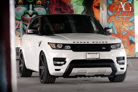 range rover sport custom wheels ag luxury wheels range rover sport forged wheels