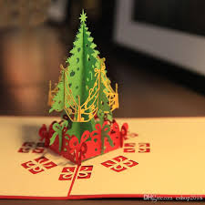 Gift Tree Free Shipping Kirigami Tree Online Kirigami Christmas Tree For Sale