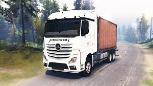 mercedes truck 2016 mercedes benz for spintires download for free