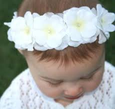 white flower headband bouquet floral headband abby s bowtique
