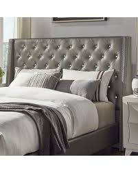 Tufted Wingback Headboard New Shopping Special Homevance Violette Tufted Wingback
