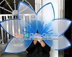 0 55 flower decorations fan props props for