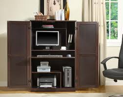 Furniture Desks Home Office by Compact Computer Armoire Furniture Roselawnlutheran Within Small