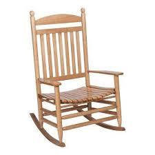 Rocking Chair Patio Furniture Light Brown Wood Rocking Chairs Patio Chairs The Home Depot