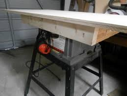 table saw workbench convert top of table saw to a work station