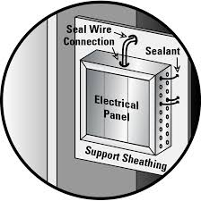 air sealing electrical wiring building america solution center