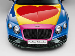 custom bentley continental design bentley unveils custom continental gt art car by