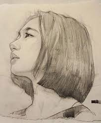 best 25 portrait sketches ideas on pinterest face sketch line