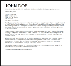 lovely sample cover letter for maintenance position 78 with