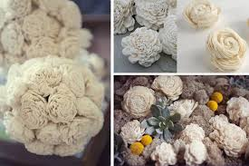 wood flowers balsa wood flowers for weddings by this day