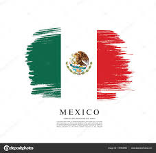 New Mexican Flag Vector Oval Colors Mexican Flag Ribbon Stock The Of A For Label