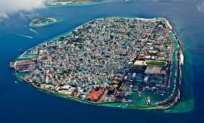Map Of Maldives Male Map