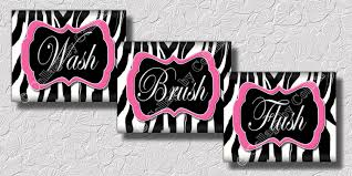 animal print bathroom ideas pink and black zebra bathroom decor bathroom decor
