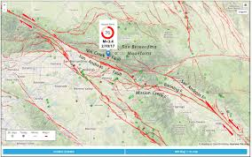 Fault Lines United States Map by Quake Forecast 4 California Faults Are Ready To Rupture San