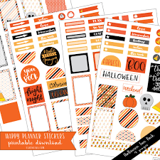 To Do Stickers Happy Planner Stickers Halloween Liz On Call