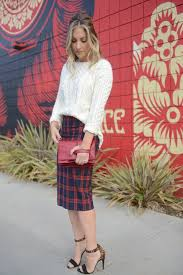 sweater with oversize sweater with pencil skirt fashion sweater plaid