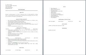 Waiter Job Description Resume by Waitress Resume Description U2013 Resume Examples