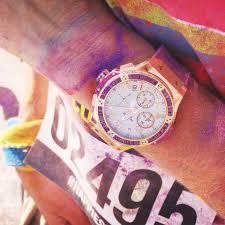 running the color run in technicolor trainers revolution