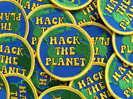 hack storage movie hack the planet hackers 70s inspired embroidered patch