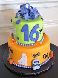 16 halloween cakes cakecentral com sweet 16 halloween birthday