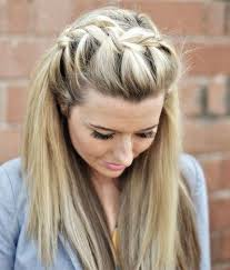 2 braids in front hair down hairstyle long natural hair best 25 front french braids ideas on pinterest braid front of