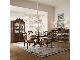Dining Room Display Cabinets A R T Furniture Inc British Heritage Formal Round Dining Table