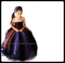 full length scary witch tutu dress long halloween costume