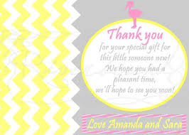what to give as a thank you gift thank you cards for baby shower party ideas anouk invitations