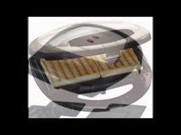 Fiesta Toaster Maple 750 Watt Sandwich Toaster Maker With 3 Changeable Plates Of