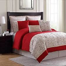 Red And Grey Comforter Bedding Kmart