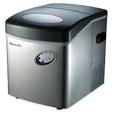bed bath and beyond ice maker 33 lb portable ice maker in stainless silver bed bath beyond