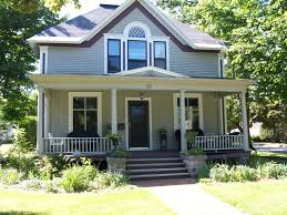 house with porch house would without its symetrical porch read more building