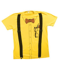 tshirt halloween nerd yellow t shirt