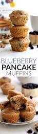 mini blueberry walnut pancake muffins hummusapien