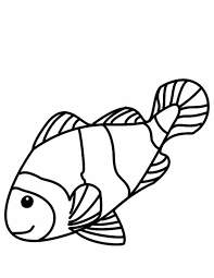 coloring graceful fish coloring image pages printable