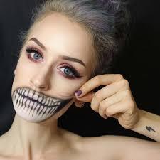 comment faire un maquillage de squelette spécial halloween design feria