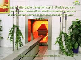 what is the cost of cremation cremation costs in florida
