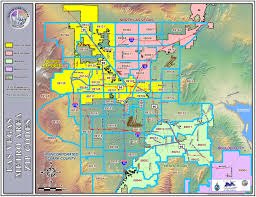 Zip Code Map Dallas Map Of Las Vegas You Can See A Map Of Many Places On The List On