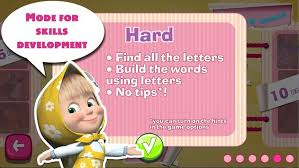 masha bear letters apk download free educational game