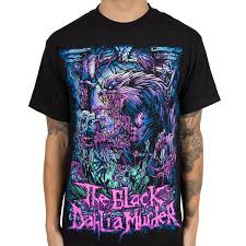 halloween horror nights t shirts the black dahlia murder indiemerchstore