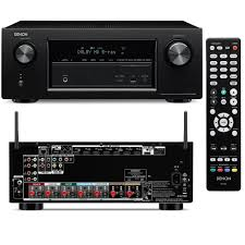 denon home theater receiver denon avr x2100w 7 2 channel network av