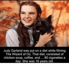 Wizard Memes - judy garland was put on a diet while filming the wizard of oz that