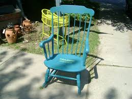 Outdoor Rocking Chair 7 U2013 Painted Rocking Chairs