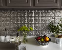 interior facade metal backsplash tile murals for kitchen