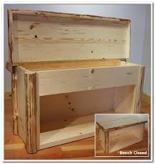 rustic entry with rustic targte coat rack unfinished wood bench