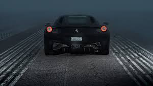 ferrari 458 wallpaper wallpaper ferrari 458 italia ferrari 458 rear view night