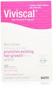 amazon com viviscal extra strength hair nutrient tablets 60