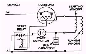 capacitor start motor wiring diagram capacitor wiring diagrams