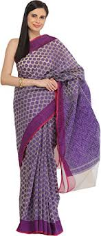 bangladeshi jamdani saree india ultra violet jamdani saree from bangladesh with woven