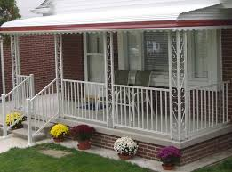 Awnings Lowes Remove Aluminum Porch Awnings Bonaandkolb Porch Ideas